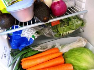 Obst und Gemüse in Fresh Zone